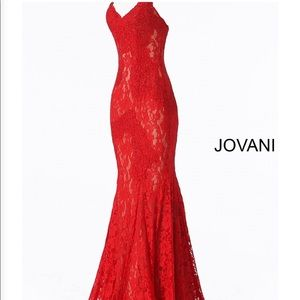 2019 Jovani Red Prom Dress